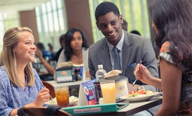 Dine West, the University of West Georgia's internal food service program, contributed $16.6 million to the local economy in its first year, more than double the university's impact for the previous year with a private vendor.