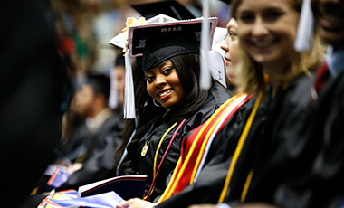 The University of West Georgia's fall commencement ceremonies will be held Saturday, Dec. 9, at 10 a.m. and 3 p.m. in the UWG Coliseum. The events cap off a semester that boasted the eighth consecutive year of record enrollment and historic levels in the median grade point average and SAT scores of incoming freshmen.