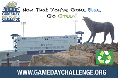 Now that you've gone blue, go green at www.gamedaychallenge.org.