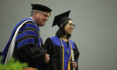 "The University of West Georgia conferred more than 900 degrees during two commencement ceremonies Saturday, with keynote speaker Sen. Mike Dugan imploring graduates to ""take a more holistic look on life."""