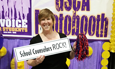 "Several representatives from the University of West Georgia attended the Georgia School Counselor Association's Annual Conference in Augusta in November. The theme for the conference was ""A Voice for Students."""