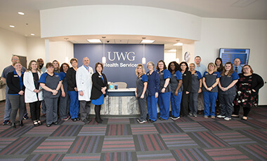 A tangible representation of the partnership between the University of West Georgia and Tanner Health System sits on a hill on UWG's campus. And last Thursday, a ribbon-cutting ceremony was held to celebrate the official grand opening of the new Student Health Center.