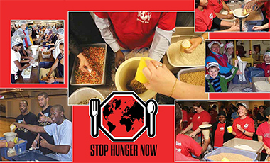 The University of West Georgia and the Carrollton community are facing a unique opportunity this coming weekend to help combat hunger, both internationally and locally. The Stop Hunger Now event will be in the UWG Coliseum on Saturday, February 21, followed by the Carroll County Empty Bowls Project on Sunday, February 22 at the Carroll County Ag Center.