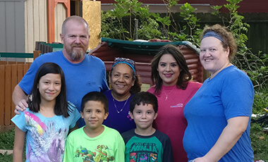 When David Lloyd, faculty development coordinator and emerging technologies specialist at the University of West Georgia, received a distress call from his sister during Hurricane Harvey he immediately drove to Houston. Her friend Rosalinda and her family were in dire need of help. What began as a trip to assist one family turned into so much more.