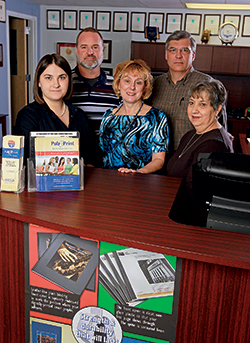 Publications and Printing staff members