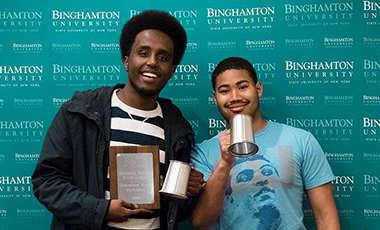 The University of West Georgia debate team left their mark in New York after yet another successful season. The team completed the season at the National Debate Tournament, hosted at Binghamton University, March 31-April 4. UWG Debate received two invitations based on prior performances during the season. - See more at: http://www.uwgperspective.com/around/stories/ndt.html#sthash.cZBQjMhc.dpuf