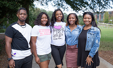 The National Society of Collegiate Scholars (NSCS) at the University of West Georgia recently earned the Bronze Award for their outstanding achievements around scholarship, leadership and service.