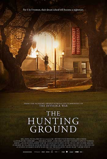 Movie poster for the Hunting Ground