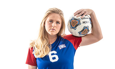 Morgan Haase started kicking a soccer ball soon after she learned to walk. She's still kicking. The University of West Georgia senior, who plays center back (a defensive position) on the Wolves soccer team, has played soccer for almost the past two decades. At the end of this season, though, she'll step off the pitch for the last time as a student-athlete.