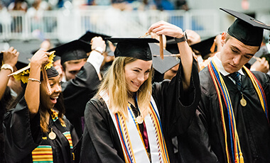 A record number of University of West Georgia students graduated Thursday, but Student Government Association President Joshua Lester challenged them to not let graduation be the climax of their stories.