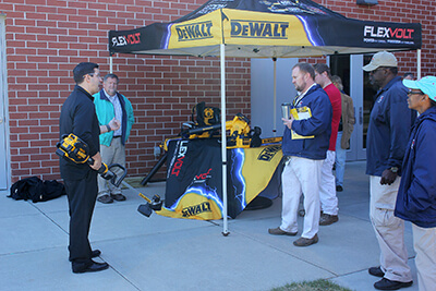 Summit Highlights Safety: Stanley Black & Decker Visits UWG