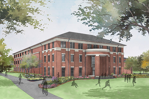 UWG Richards Hall rendering