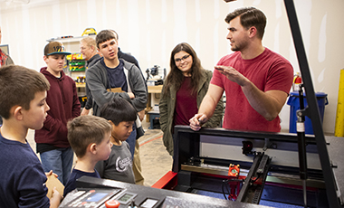 Witt Teem has never encountered a problem he didn't want to fix. As the lab manager of the Tinker's Box, a makerspace sponsored in part by the University of West Georgia, he gets to help people fix their problems every day.