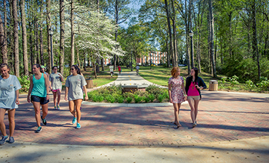 The natural beauty of the University of West Georgia is not just because of the beautiful flowers, it's also because of the beautiful trees on our campus. This year, UWG received its fifth consecutive recognition from Tree Campus USA for its commitment to encouraging students and university personnel to care for our planet's tree resources.