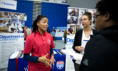 The University of West Georgia hosted nearly 450 prospective students last Sunday at its winter Preview Day, which serves as an open house to show interested parties the unique opportunities offered at the university.