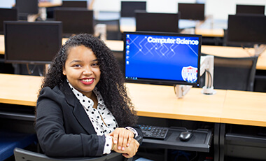 Rediet Asrat excels at more than computer science. She knows how to turn a major challenge into limitless opportunity.