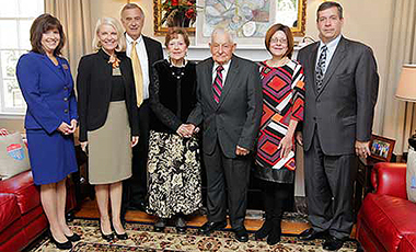 The University of West Georgia is proud to announce the establishment of two endowed scholarships from the estate of Hugh L. and Doris H. Brock. The Hugh L. Brock, Jr. and the Doris Hollingsworth Brock Scholarship for Education and the Hugh L. Brock, Jr. and Doris Hollingsworth Brock Scholarship for Nursing Education will be awarded annually to UWG students in the College of Education and the Tanner Health System School of Nursing.