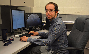 Born in Catalonia, University of West Georgia alumnus Roger Lascorz '14 knew from a young age his passion for space exploration.