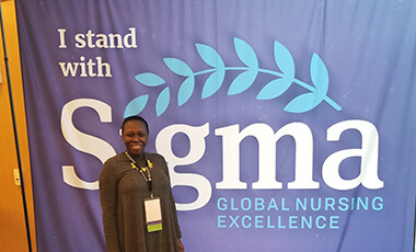 Born in Guyana and then moving to New York to work in the business sector, Nadia Prince-Williams found herself in need of medical attention. While reflecting on the need for compassion in healthcare, Prince-Williams met a wonderful nurse.