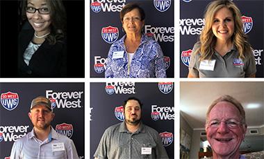 Photo collage of UWG alumni
