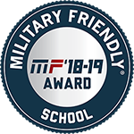 Military Friendly School 2018 - 2019