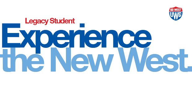 UWG Legacy Students, Experience the New West