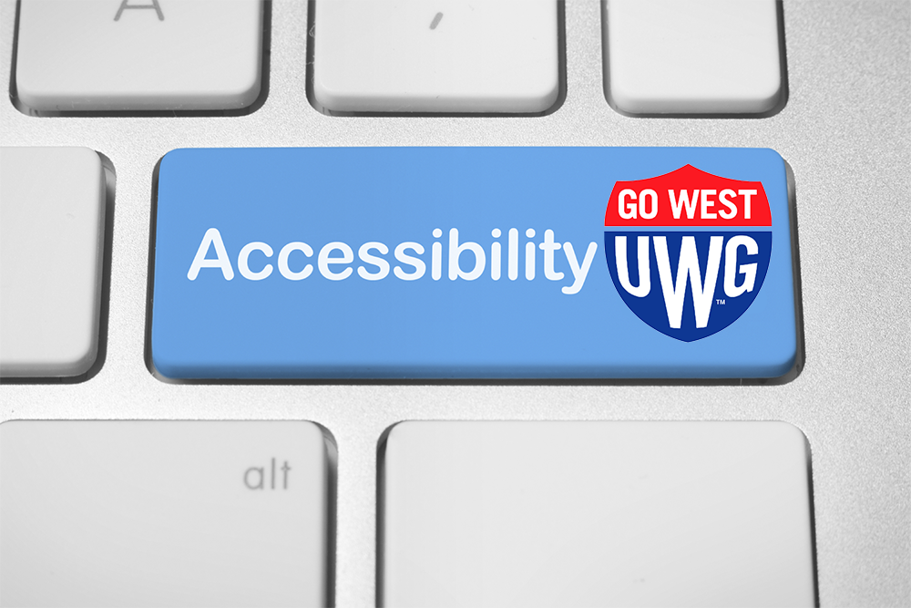 Accessibility with UWG Logo